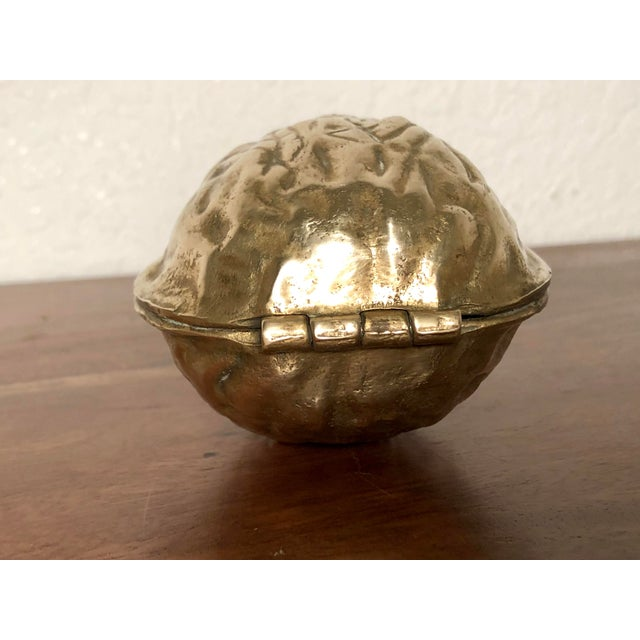 Mid 20th Century Solid Brass Walnut Cracker For Sale - Image 4 of 13