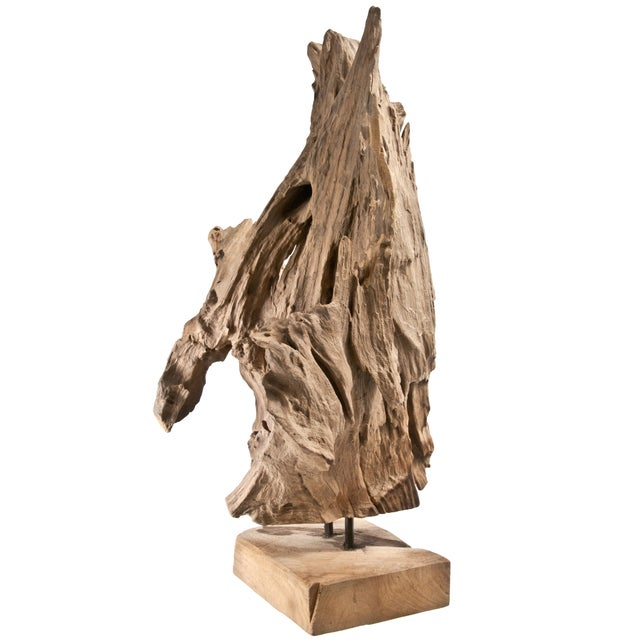 Driftwood Fragment on Stand IV - Image 2 of 4