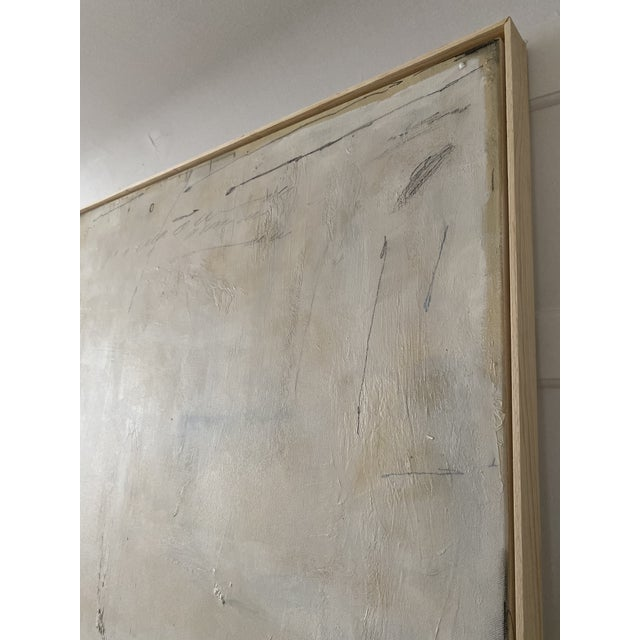 "Josh Young Design House ""Place De La Bastille"" Painting. Framed. For Sale In Chicago - Image 6 of 10"