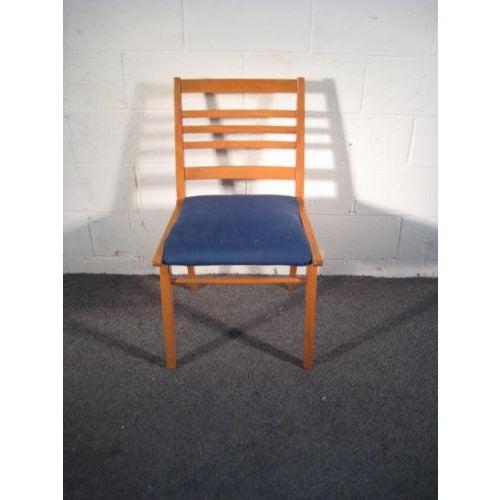 Danish Modern Danish Modern Ladder Back Arm Chair For Sale - Image 3 of 3