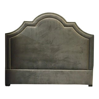 Madison Velvet King Bed For Sale