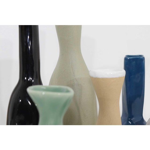 Collection of Vases by Luna Garcia - Set of 11 For Sale - Image 4 of 10