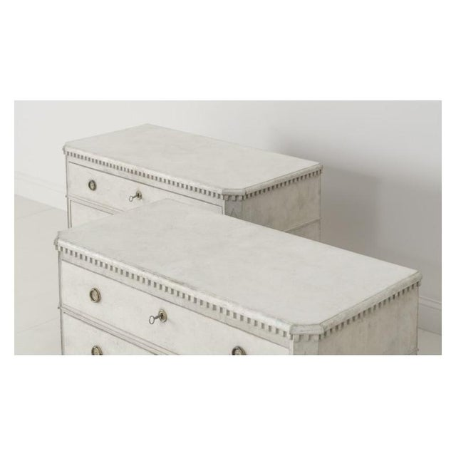 19th Century Swedish Gustavian Bedside Commodes - a Pair For Sale - Image 9 of 11
