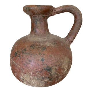 Early 20th Century Terra Cotta Jug For Sale