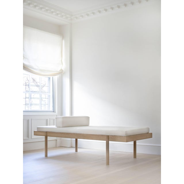White Wc2 Daybed by Ash Nyc in White Oak For Sale - Image 8 of 10