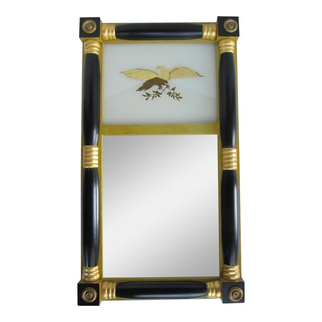 Federal-Style Eagle Crest Mirror For Sale