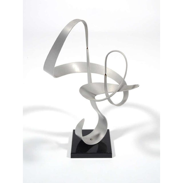 Kinetic Abstract Sculpture by John Anderson - Image 7 of 11