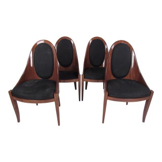 Set of Four Dining Chairs by Pietro Costantini For Sale