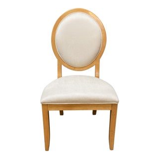 Drexel Heritage Contemporary Bergerre + Shagreen Side Chair For Sale