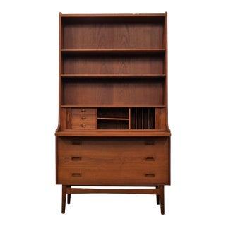 "Johannes Sorth Teak Bookcase / Secretary - ""Badstuestræde"""