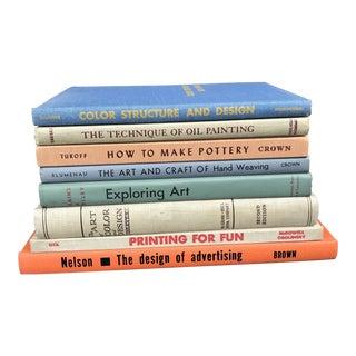 Mid-Century Modern Art & Design Hardback Coffee Table Books - Set of 8 For Sale