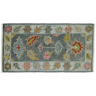 21st Century Contemporary Oushak Accent Rug- 2′1″ × 3′11″ For Sale