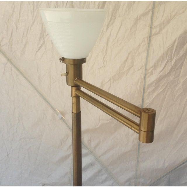 Nessen Studios Adjustable Swing Arm Floor Lamp - Image 6 of 7