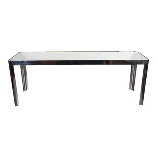 Mid-Century Modernist Console Table For Sale