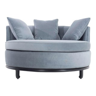 Kittenger Circular Chaise For Sale