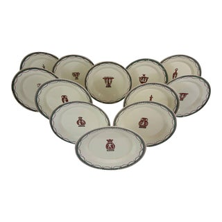 Cherinto Del Vecchio Italian Creamware - 28 Pieces For Sale