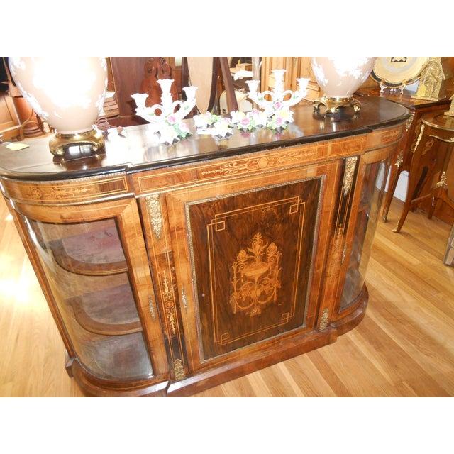 Louis XVI Sideboard Display Credenza   Chairish