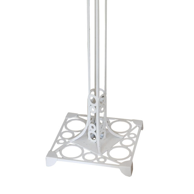 White Aluminum Floor Lamp - Image 2 of 3