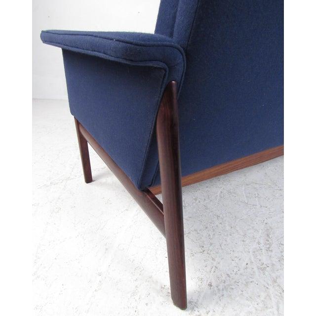 Blue Vintage Danish Sofa by Finn Juhl for France & Son For Sale - Image 8 of 12