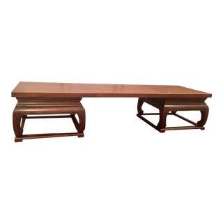 Chinoiserie Style Baker Furniture Coffee Table For Sale