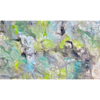 "Abstract Painting by Trixie Pitts ""Bubbling Brook"""