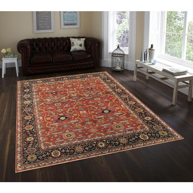Pasargad Ferehan Area Rug- 5′3″ × 7′3″ - Image 4 of 4