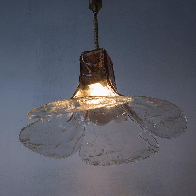 Pendant lamp by Carlo Nason for Mazzega For Sale - Image 6 of 9