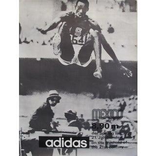 1968 Mexico Olympics Running Long Jump Poster (Bob Beamon) - Adidas For Sale