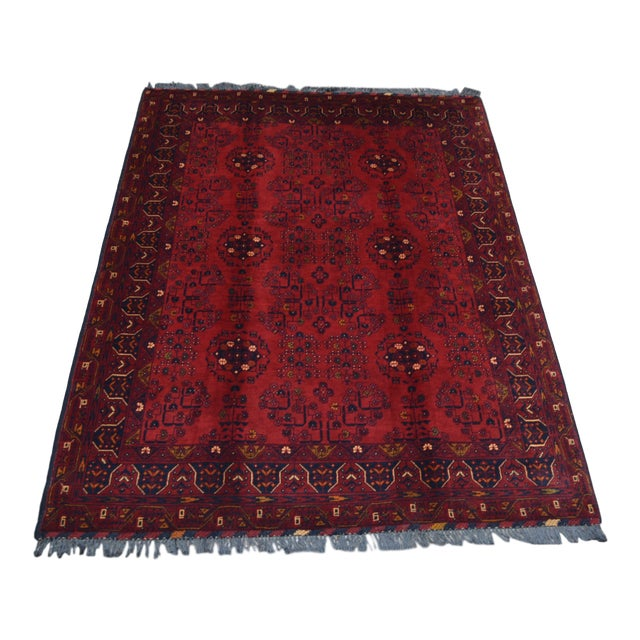 Afghan Tribal Red Rug For Sale