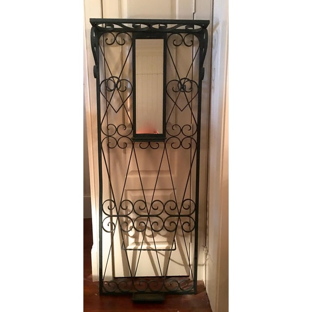 Vintage French Iron Coat and Umbrella Stand - Image 2 of 5