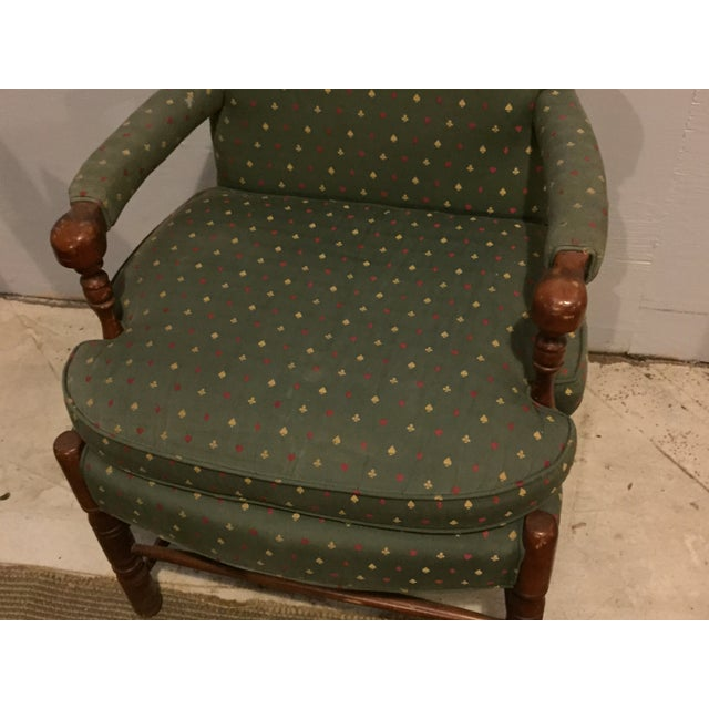 Mid-Century French Club Armchairs - Set of 4 - Image 9 of 10
