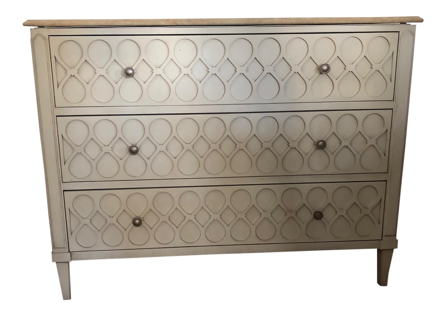 Hickory Chair Company Murano Chest Of Drawers With Stone Top