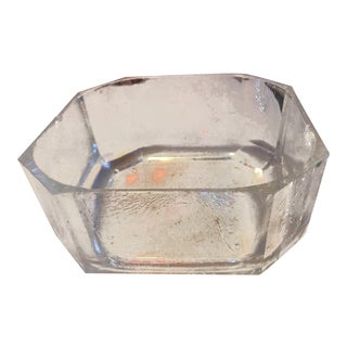 Vintage Large Lucite Bowl For Sale
