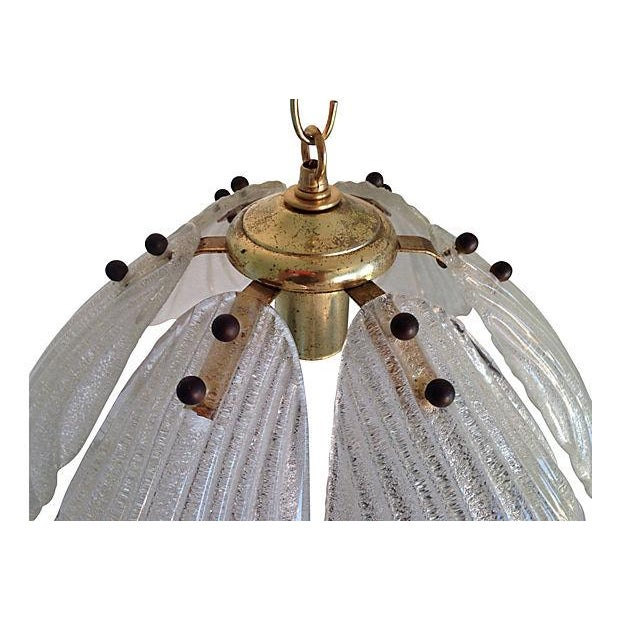 1960s Kalmar-Style Lotus Pendant - Image 6 of 6