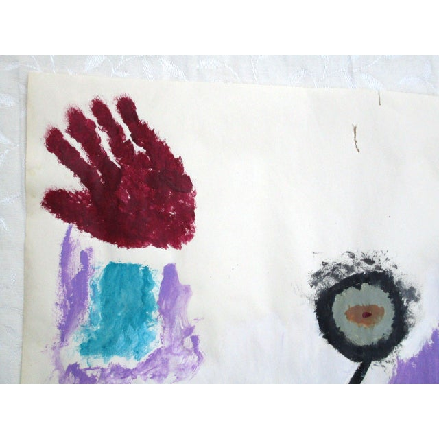 'Hands on the Prize' Abstract Painting - Image 8 of 9