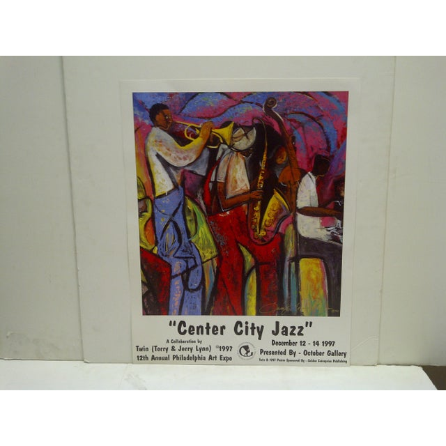 1997 Center City Jazz Poster - Image 2 of 6