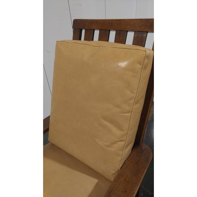 Wood Rose Tarlow High Back Chair in Walnut Finish For Sale - Image 7 of 11
