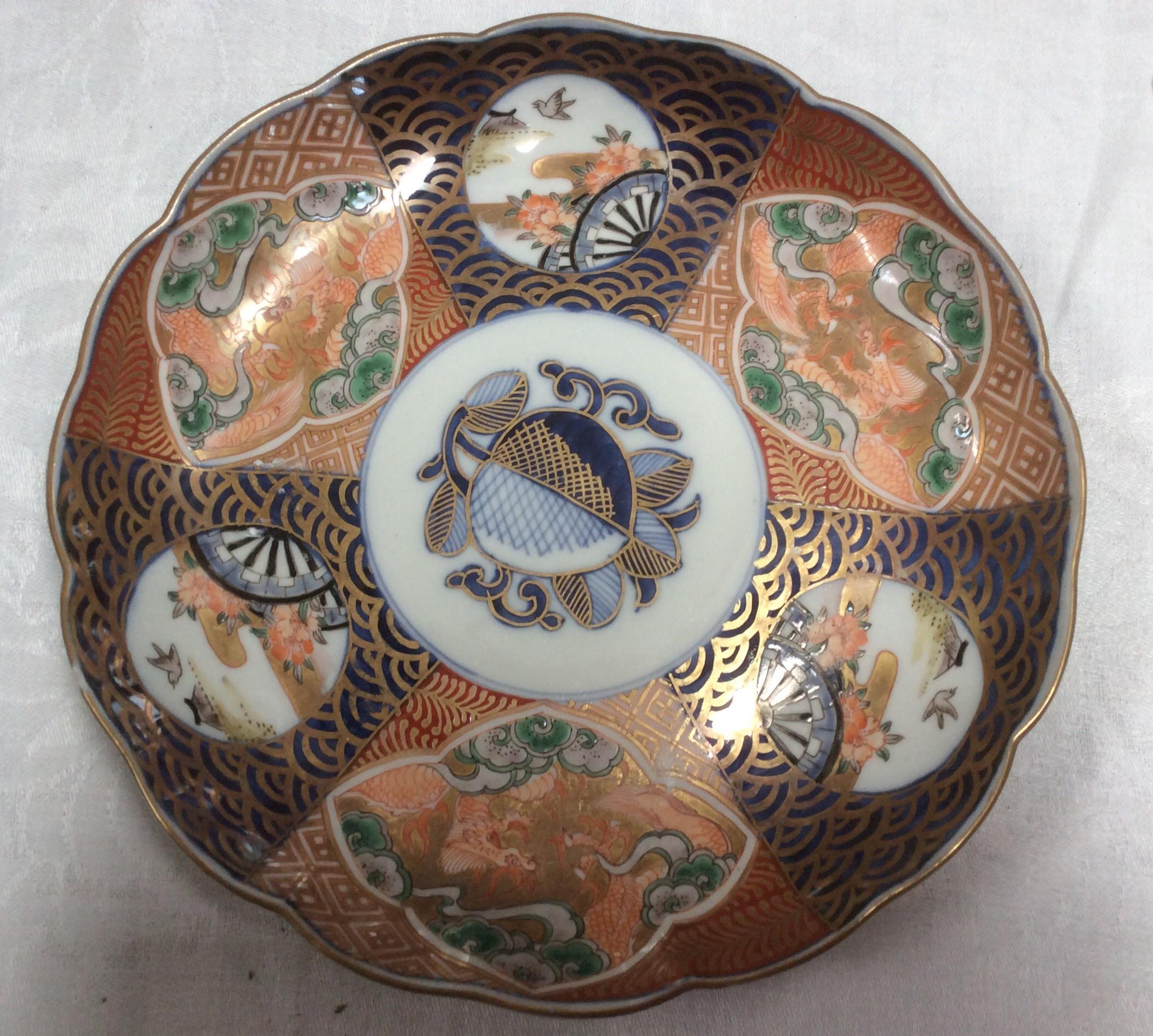 Antique 20th Century Imari Plate - Image 2 of 4 & Antique 20th Century Imari Plate | Chairish