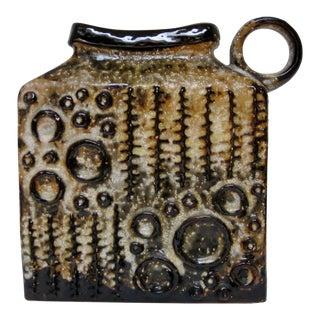 Trude Carstens Large Ceramic Vase For Sale