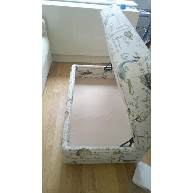 Sandpiper Storage Ottoman - Image 4 of 5