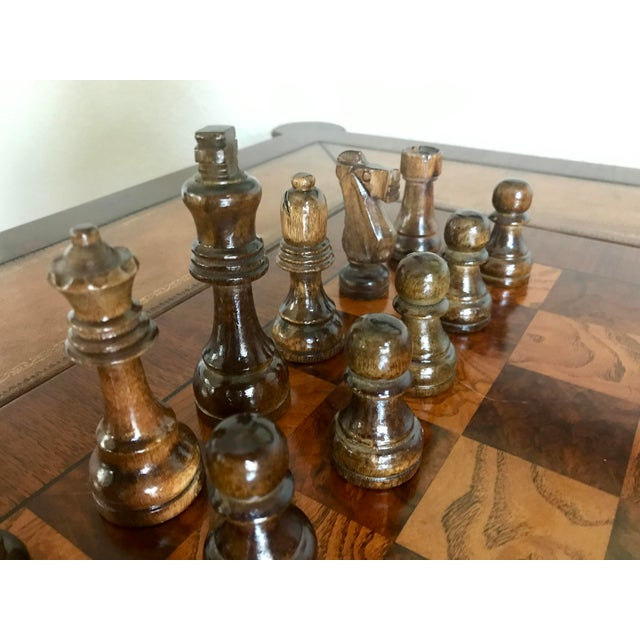 Ethan Allen Ethan Allen Game Table For Sale - Image 4 of 9
