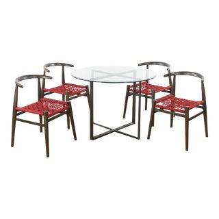 West Elm Five-Piece Dining Set - 5 Pieces For Sale