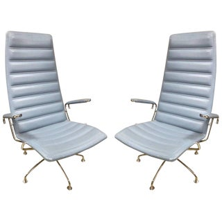 Pair Lounge Chairs by Jens Ammundsen for Fritz Hansen