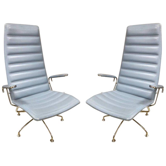 Pair Lounge Chairs by Jens Ammundsen for Fritz Hansen For Sale