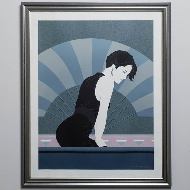 A Framed Art Deco Style Limited Edition Print of a Woman - Image 2 of 5