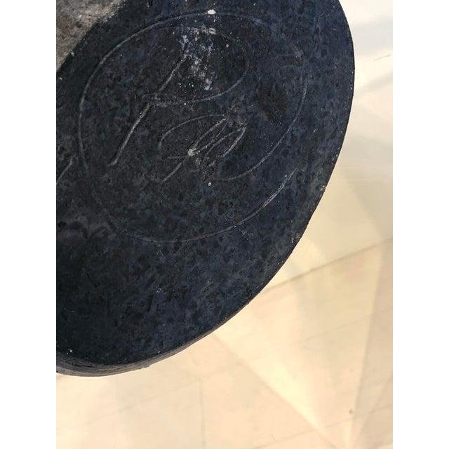 "Vintage Mid-Century Mizu-Baketsu"" Ceramic Well Bucket / Water Paul Vessel Sculpture For Sale - Image 12 of 13"