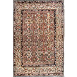 "Pasargad Home Antique Dorokhsh Area Rug - 12'6"" X 18'3"" For Sale"