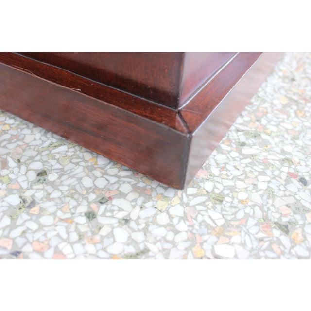 Vintage Mahogany Pedestal For Sale - Image 12 of 13