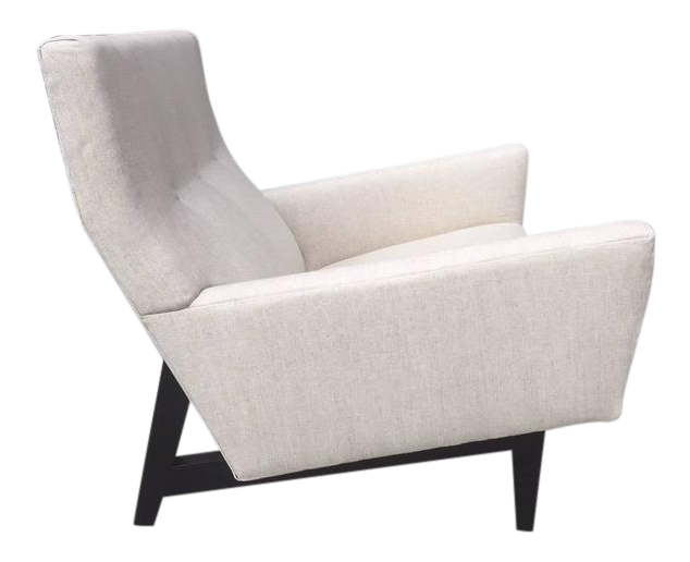Charmant Jens Risom Lounge Chair   Image 1 Of 5