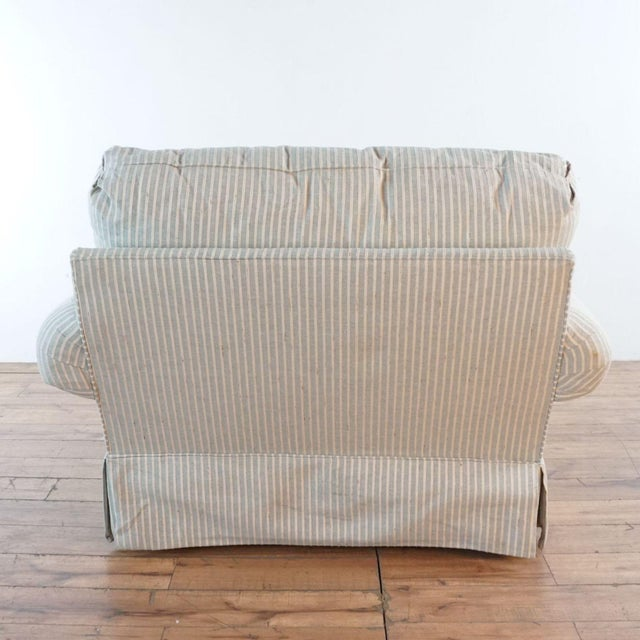 Michael Thomas Armchairs and Ottoman- 3 Pieces For Sale - Image 10 of 13